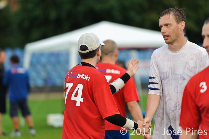 EUC2011, Maribor Slovenia.<br /> Great Britain vs Finland. Final. Master Division<br /> PhotoId :2011-08-04-1040
