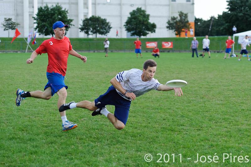 EUC2011, Maribor Slovenia.<br /> Great Britain vs Finland. Final. Master Division<br /> PhotoId :2011-08-04-0898