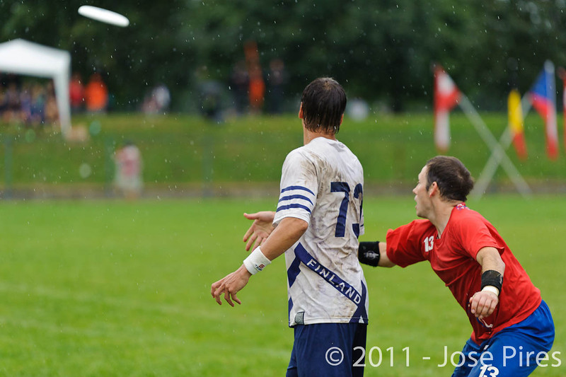 EUC2011, Maribor Slovenia.<br /> Great Britain vs Finland. Final. Master Division<br /> PhotoId :2011-08-04-0955