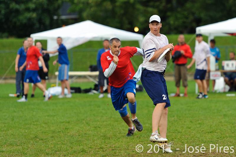 EUC2011, Maribor Slovenia.<br /> Great Britain vs Finland. Final. Master Division<br /> PhotoId :2011-08-04-1019