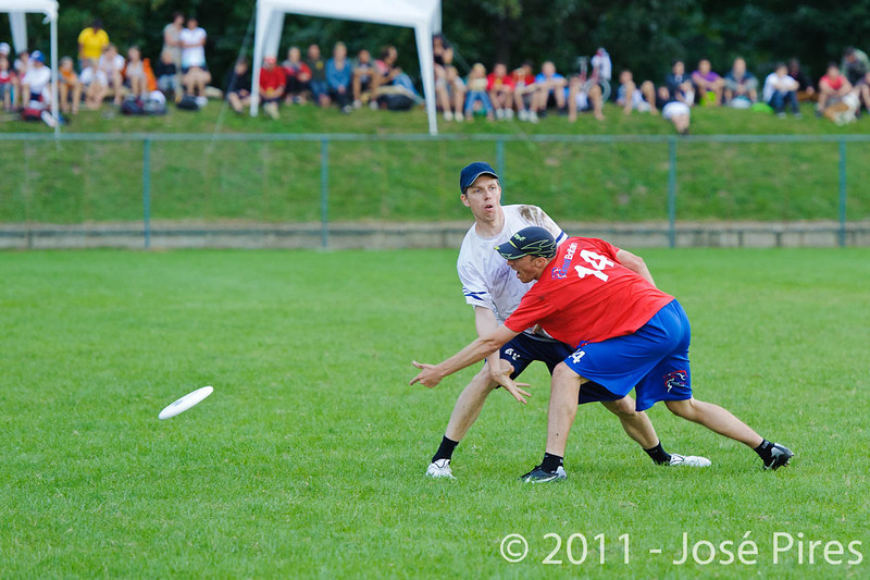 EUC2011, Maribor Slovenia.<br /> Great Britain vs Finland. Final. Master Division<br /> PhotoId :2011-08-04-0851