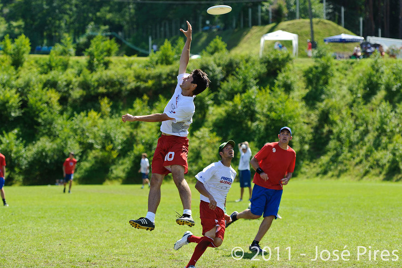 EUC2011, Maribor Slovenia.<br /> France vs Great Britain. Master Division.<br /> PhotoID : 2011-08-02-0823