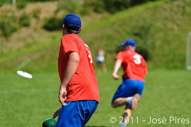 EUC2011, Maribor Slovenia.<br /> France vs Great Britain. Master Division.<br /> PhotoID : 2011-08-02-0808