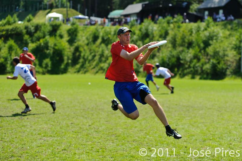 EUC2011, Maribor Slovenia.<br /> France vs Great Britain. Master Division.<br /> PhotoID : 2011-08-02-0798