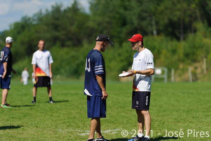 EUC2011, Maribor Slovenia.<br /> Germany vs Finland. Master Division.<br /> PhotoID : 2011-08-02-0836