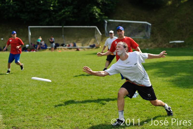 EUC2011, Maribor Slovenia.<br /> Great Britain vs Germany. Semi-Final. Master Division<br /> PhotoId :2011-08-03-0913
