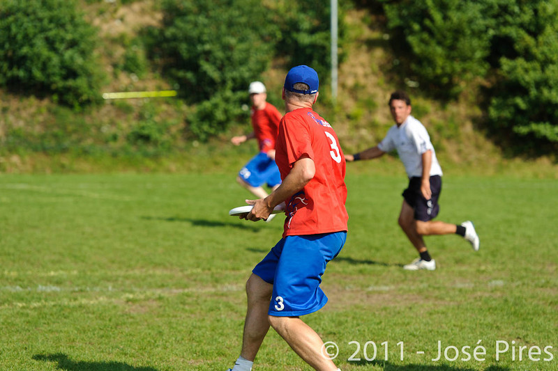 EUC2011, Maribor Slovenia.<br /> Great Britain vs Germany. Semi-Final. Master Division<br /> PhotoId :2011-08-03-1014
