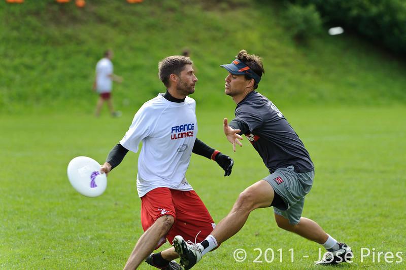EUC2011, Maribor Slovenia.<br /> France vs Austria. Mixed Division.<br /> PhotoID : 2011-07-31-0093