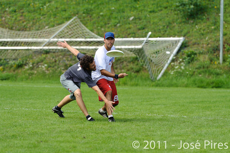 EUC2011, Maribor Slovenia.<br /> France vs Austria. Mixed Division.<br /> PhotoID : 2011-07-31-0071