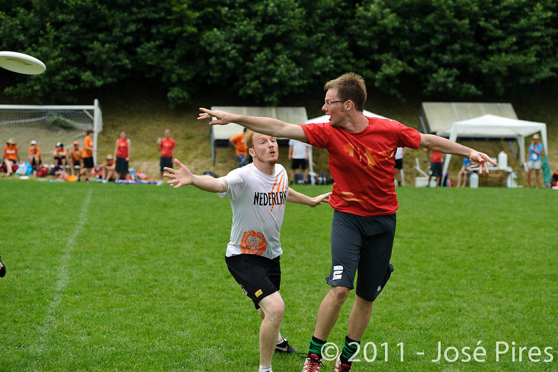 EUC2011, Maribor Slovenia.<br /> Belgium vs Netherlands. Mixed Division.<br /> PhotoID : 2011-07-31-0239