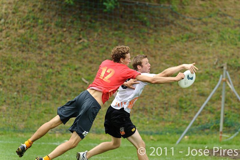 EUC2011, Maribor Slovenia.<br /> Belgium vs Netherlands. Mixed Division.<br /> PhotoID : 2011-07-31-0190