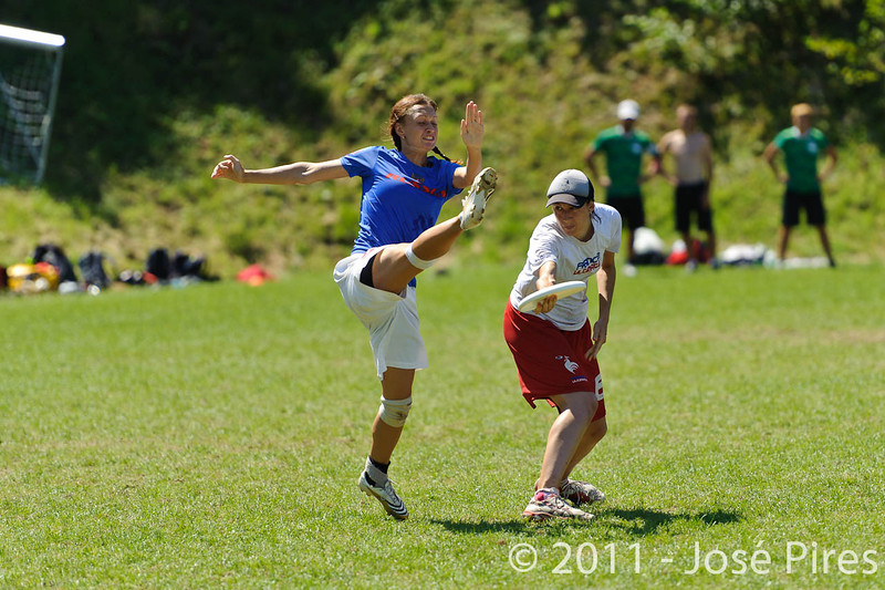 EUC2011, Maribor Slovenia.<br /> Russia vs France. Semi-final. Mixed Division<br /> PhotoId :2011-08-05-0308