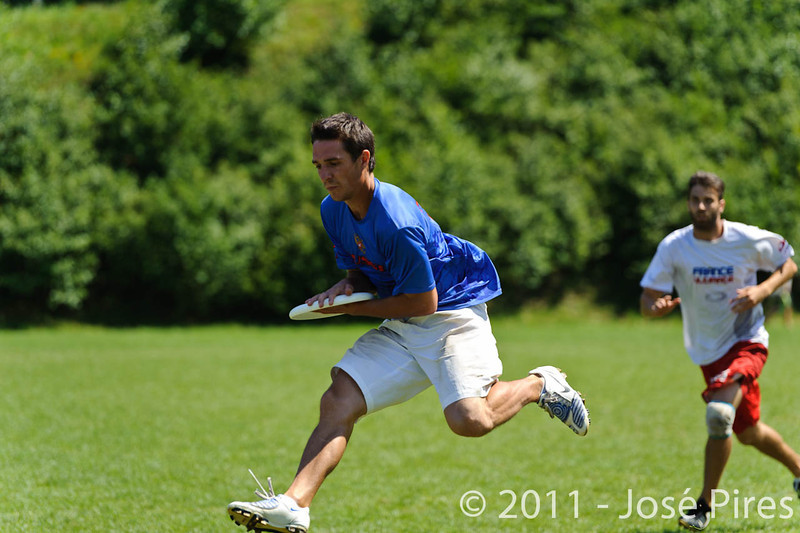 EUC2011, Maribor Slovenia.<br /> Russia vs France. Semi-final. Mixed Division<br /> PhotoId :2011-08-05-0230