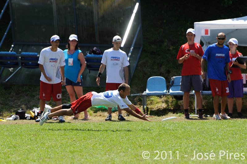 EUC2011, Maribor Slovenia.<br /> Russia vs France. Semi-final. Mixed Division<br /> PhotoId :2011-08-05-0132
