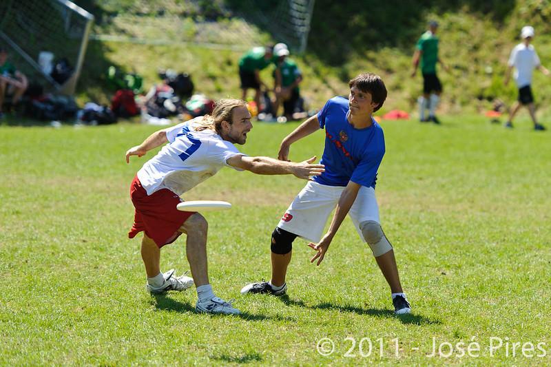 EUC2011, Maribor Slovenia.<br /> Russia vs France. Semi-final. Mixed Division<br /> PhotoId :2011-08-05-0301