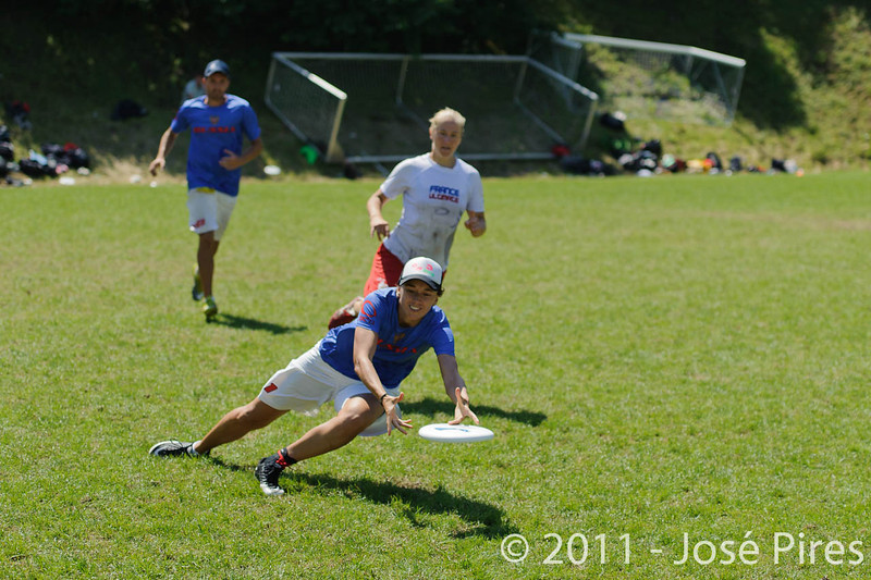 EUC2011, Maribor Slovenia.<br /> Russia vs France. Semi-final. Mixed Division<br /> PhotoId :2011-08-05-0259
