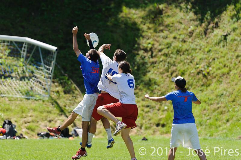 EUC2011, Maribor Slovenia.<br /> Russia vs France. Semi-final. Mixed Division<br /> PhotoId :2011-08-05-0213