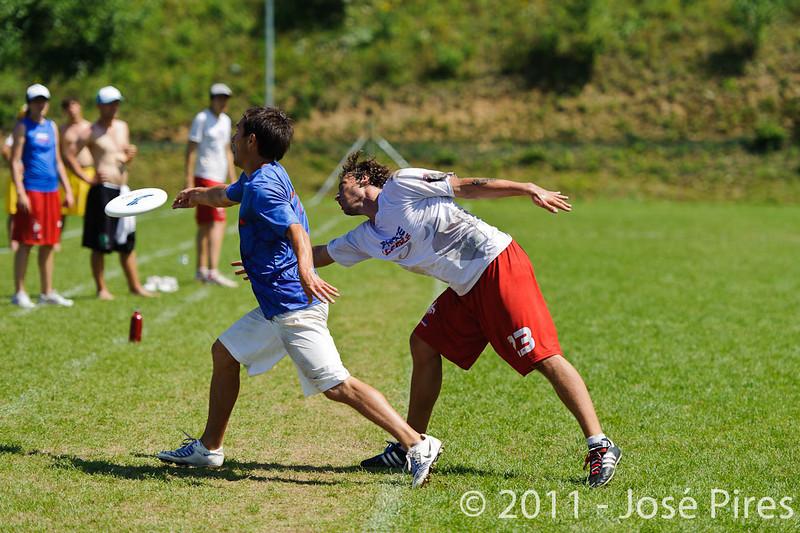 EUC2011, Maribor Slovenia.<br /> Russia vs France. Semi-final. Mixed Division<br /> PhotoId :2011-08-05-0254