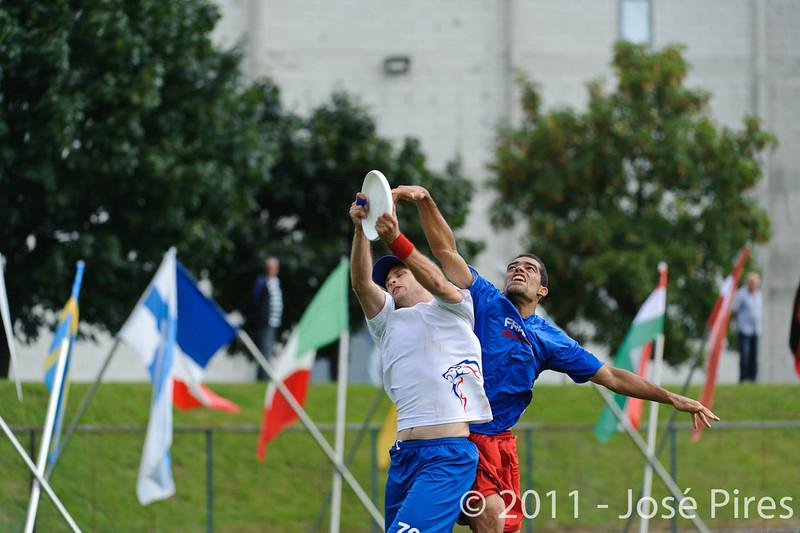 EUC2011, Maribor Slovenia.<br /> Great Britain vs France. Mixed Division.<br /> PhotoID : 2011-08-01-0023