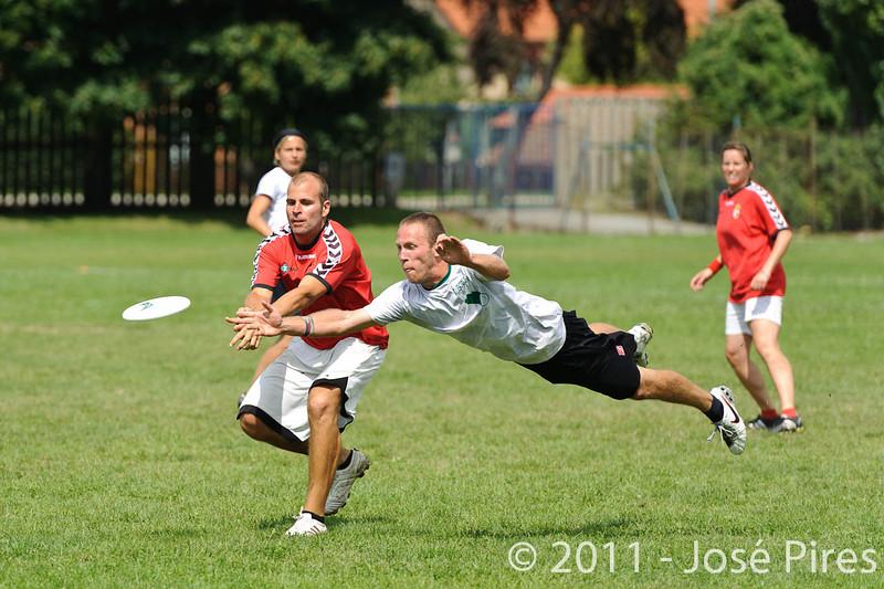 EUC2011, Maribor Slovenia.<br /> Hungary vs Slovenia. Mixed Division.<br /> PhotoID : 2011-08-01-0658