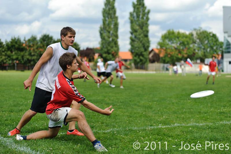 EUC2011, Maribor Slovenia.<br /> Hungary vs Slovenia. Mixed Division.<br /> PhotoID : 2011-08-01-0634