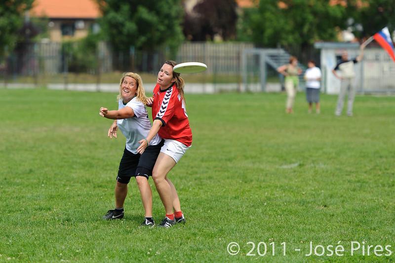 EUC2011, Maribor Slovenia.<br /> Hungary vs Slovenia. Mixed Division.<br /> PhotoID : 2011-08-01-0625