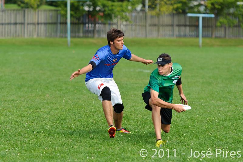 EUC2011, Maribor Slovenia.<br /> Russia vs Slovenia. Mixed Division.<br /> PhotoID : 2011-08-01-0212