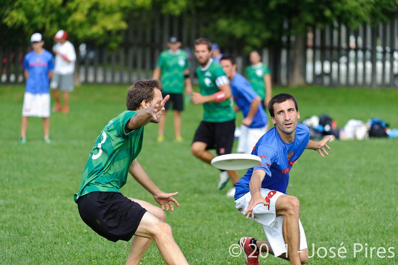 EUC2011, Maribor Slovenia.<br /> Russia vs Slovenia. Mixed Division.<br /> PhotoID : 2011-08-01-0150