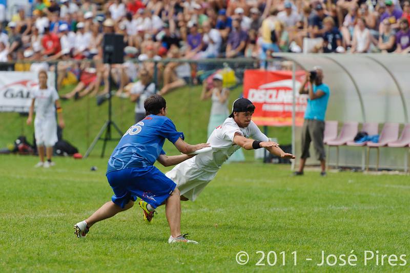 EUC2011, Maribor Slovenia.<br /> Great Britain vs Russia. Final. Mixed Division<br /> PhotoId :2011-08-06-0352