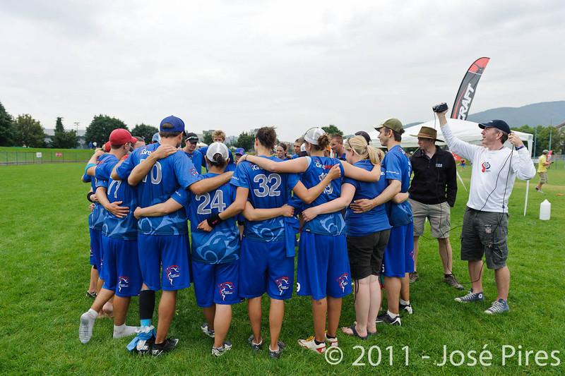 EUC2011, Maribor Slovenia.<br /> Great Britain vs Russia. Final. Mixed Division<br /> PhotoId :2011-08-06-0449