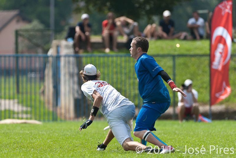 EUC2011, Maribor Slovenia.<br /> Great Britain vs Russia. Final. Mixed Division<br /> PhotoId :2011-08-06-0238
