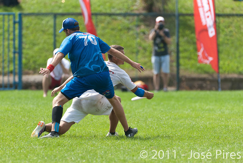 EUC2011, Maribor Slovenia.<br /> Great Britain vs Russia. Final. Mixed Division<br /> PhotoId :2011-08-06-0256