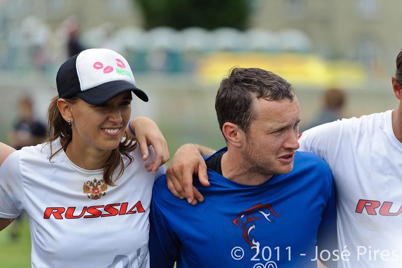 EUC2011, Maribor Slovenia.<br /> Great Britain vs Russia. Final. Mixed Division<br /> PhotoId :2011-08-06-0432