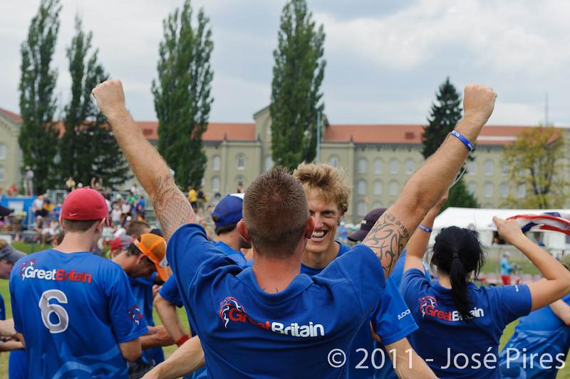 EUC2011, Maribor Slovenia.<br /> Great Britain vs Russia. Final. Mixed Division<br /> PhotoId :2011-08-06-0421