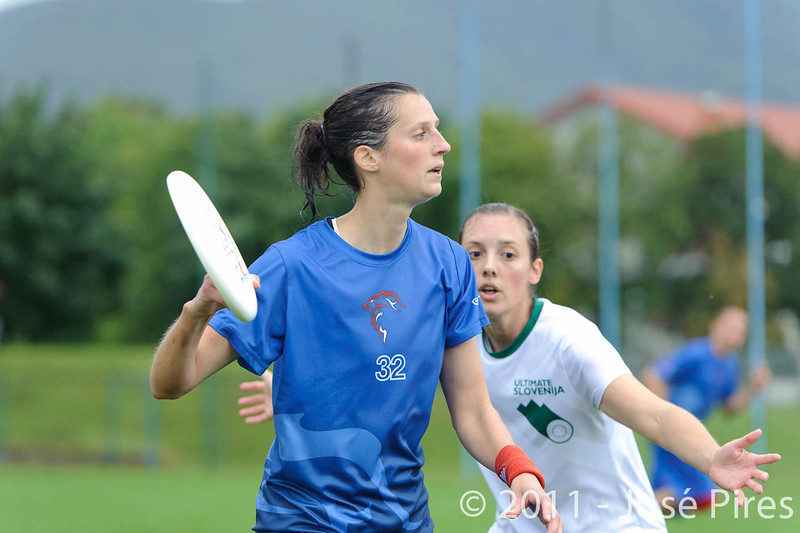 EUC2011, Maribor Slovenia.<br /> Opening Game.<br /> Slovenia vs Great Britain Mixed Division.<br /> PhotoID : 2011-07-30-0410
