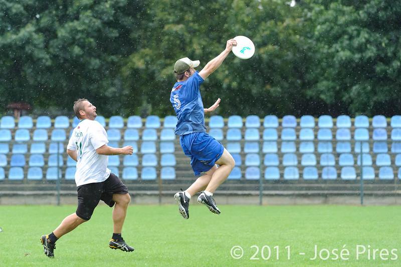 EUC2011, Maribor Slovenia.<br /> Opening Game.<br /> Slovenia vs Great Britain Mixed Division.<br /> PhotoID : 2011-07-30-0198