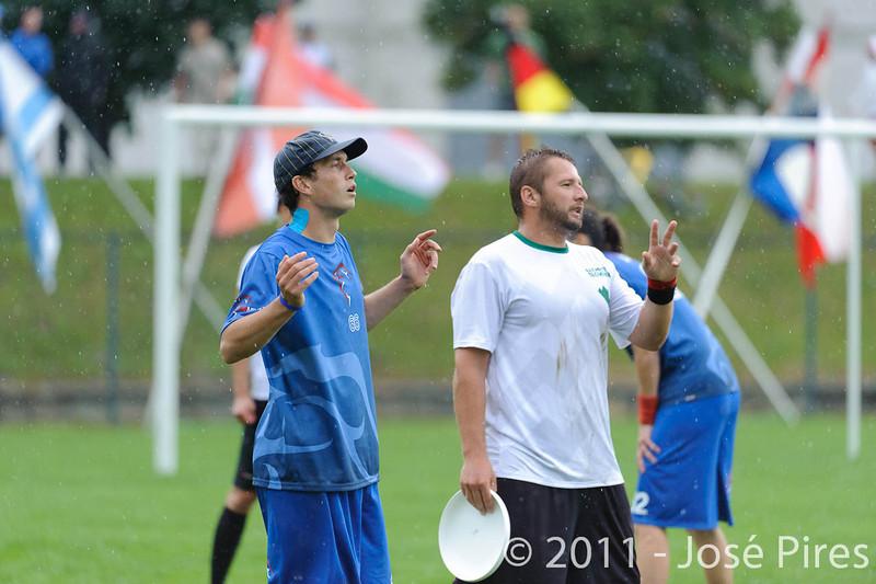 EUC2011, Maribor Slovenia.<br /> Opening Game.<br /> Slovenia vs Great Britain Mixed Division.<br /> PhotoID : 2011-07-30-0192