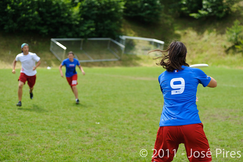 EUC2011, Maribor Slovenia.<br /> France vs Poland. Quarter-final. Mixed Division<br /> PhotoId :2011-08-04-0318