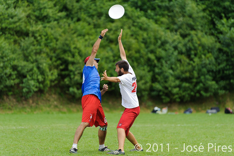 EUC2011, Maribor Slovenia.<br /> France vs Poland. Quarter-final. Mixed Division<br /> PhotoId :2011-08-04-0363