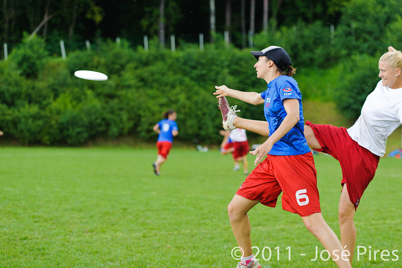 EUC2011, Maribor Slovenia.<br /> France vs Poland. Quarter-final. Mixed Division<br /> PhotoId :2011-08-04-0429