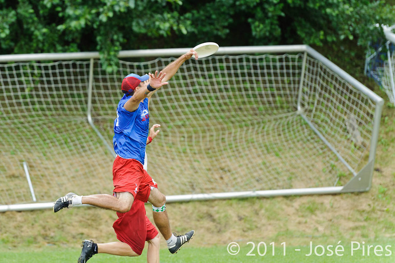 EUC2011, Maribor Slovenia.<br /> France vs Poland. Quarter-final. Mixed Division<br /> PhotoId :2011-08-04-0460
