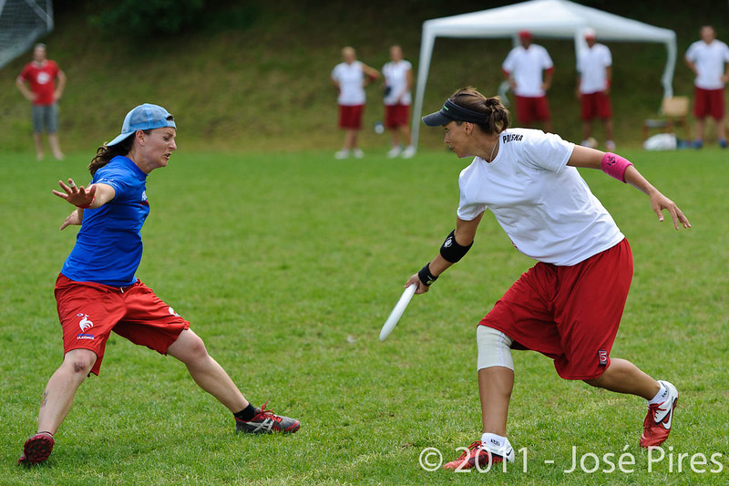 EUC2011, Maribor Slovenia.<br /> France vs Poland. Quarter-final. Mixed Division<br /> PhotoId :2011-08-04-0313