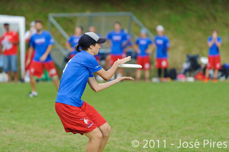 EUC2011, Maribor Slovenia.<br /> France vs Poland. Quarter-final. Mixed Division<br /> PhotoId :2011-08-04-0411