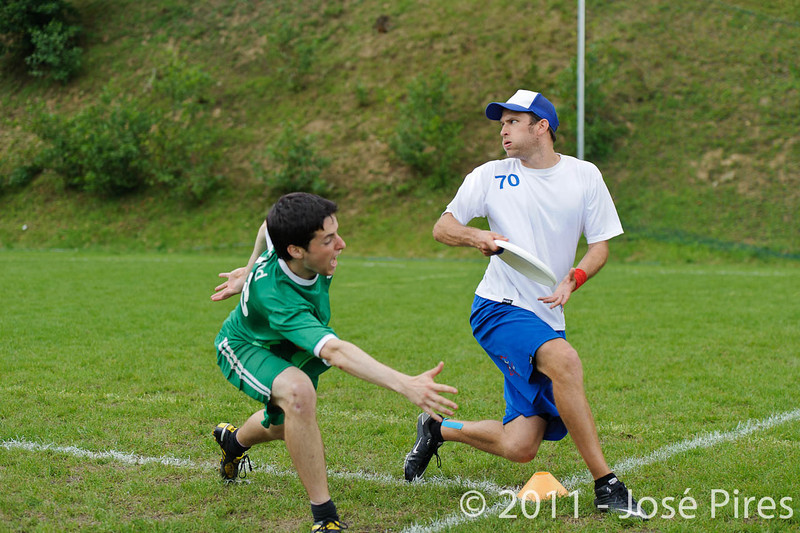 EUC2011, Maribor Slovenia.<br /> Great Britain vs Ireland. Quarter-final. Mixed Division<br /> PhotoId :2011-08-04-0200