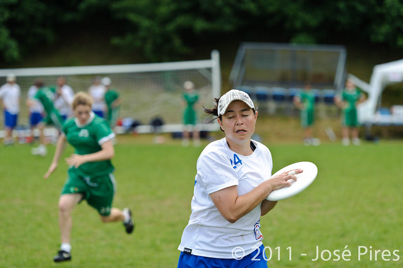 EUC2011, Maribor Slovenia.<br /> Great Britain vs Ireland. Quarter-final. Mixed Division<br /> PhotoId :2011-08-04-0120