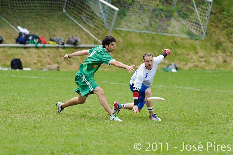 EUC2011, Maribor Slovenia.<br /> Great Britain vs Ireland. Quarter-final. Mixed Division<br /> PhotoId :2011-08-04-0231