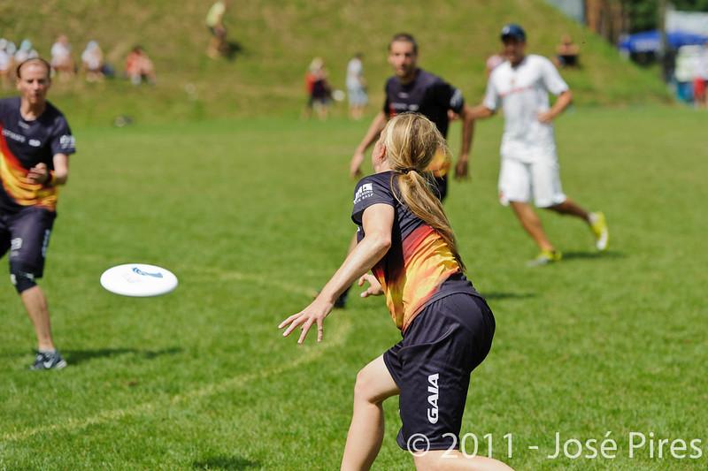 EUC2011, Maribor Slovenia.<br /> Germany vs Russia. Quarter-final. Mixed Division<br /> PhotoId :2011-08-04-0250