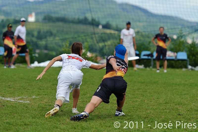 EUC2011, Maribor Slovenia.<br /> Germany vs Russia. Quarter-final. Mixed Division<br /> PhotoId :2011-08-04-0111