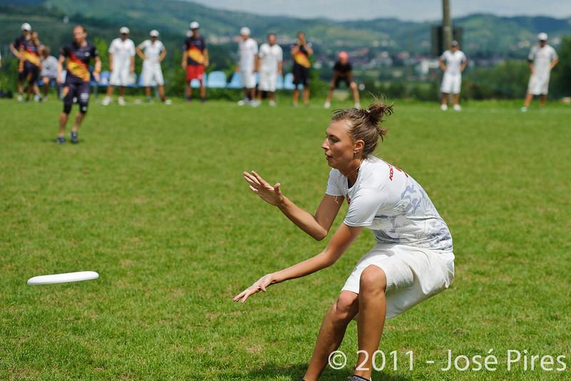 EUC2011, Maribor Slovenia.<br /> Germany vs Russia. Quarter-final. Mixed Division<br /> PhotoId :2011-08-04-0240