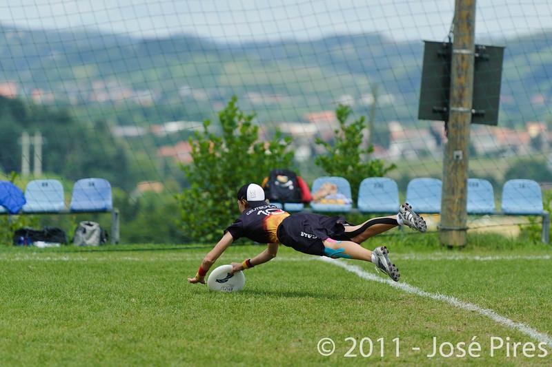 EUC2011, Maribor Slovenia.<br /> Germany vs Russia. Quarter-final. Mixed Division<br /> PhotoId :2011-08-04-0279